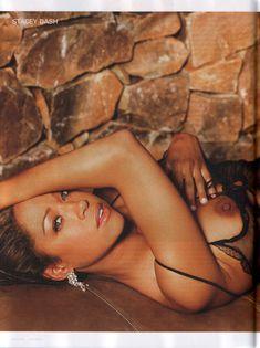Обнажённая Стейси Дэш позирует в журнале Playboy фото #1