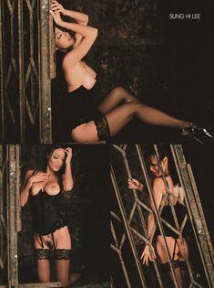 Изящная Сунг Хай Ли обнажилась в Playboys Women of Color фото #2