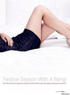 Секси Санни Леоне  в журнале Maxim фото #3