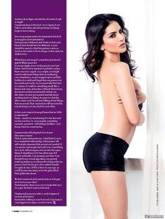 Секси Санни Леоне  в журнале Maxim фото #5