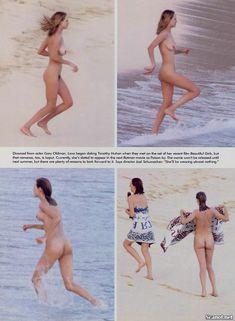 Обнаженная Ума Турман  в журнале Playboy фото #4