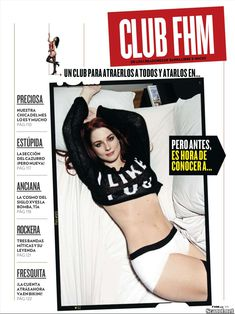 Заманчивая Александра Брекенридж на эротических фото в журнале FHM фото #1