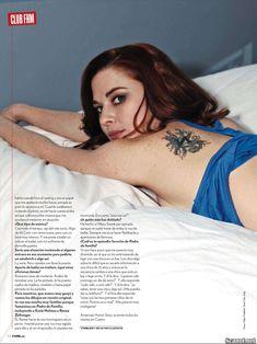 Заманчивая Александра Брекенридж на эротических фото в журнале FHM фото #3