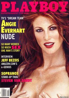 Обнаженная Энджи Эверхарт  в журнале Playboy фото #1