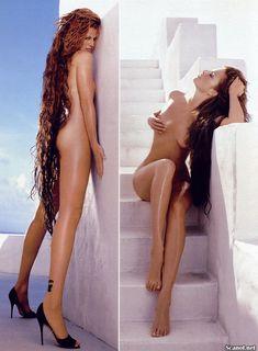 Обнаженная Энджи Эверхарт  в журнале Playboy фото #3