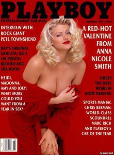 Анна Николь Смит позирует голой  в журнале Playboy фото #1