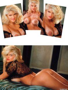 Абсолютно голая Анна Николь Смит  в журнале Playboy Hors-Serie N фото #2