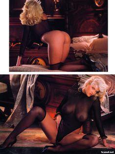 Абсолютно голая Анна Николь Смит  в журнале Playboy Hors-Serie N фото #15