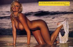 Абсолютно голая Анна Николь Смит  в журнале Playboy Hors-Serie N фото #25