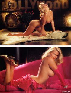 Абсолютно голая Анна Николь Смит  в журнале Playboy Hors-Serie N фото #30
