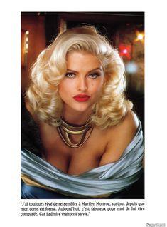 Абсолютно голая Анна Николь Смит  в журнале Playboy Hors-Serie N фото #35