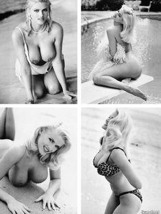 Абсолютно голая Анна Николь Смит  в журнале Playboy Hors-Serie N фото #43