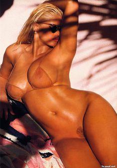 Абсолютно голая Анна Николь Смит  в журнале Playboy Hors-Serie N фото #61