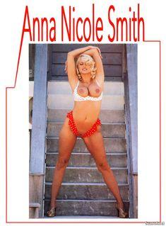 Абсолютно голая Анна Николь Смит  в журнале Playboy Hors-Serie N фото #79