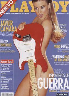 Кармен Электра оголилась в журнале Playboy фото #1