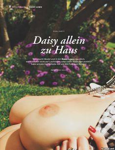 Дэйзи Лоу разделась  в журнале Playboy фото #1