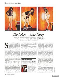 Дэйзи Лоу разделась  в журнале Playboy фото #7