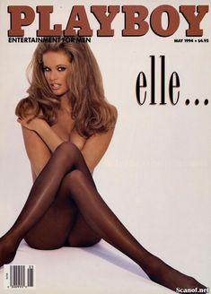 Сексуальная Эль Макферсон показала голую грудь в журнале Playboy фото #1