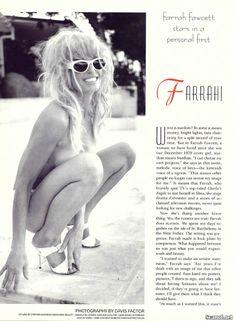 Соблазнительная Фарра Фосетт снялась обнажённой в журнале Playboy фото #2