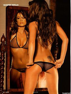 Красивая Имоджен Бэйли снялась голой в журнале Maxim фото #4