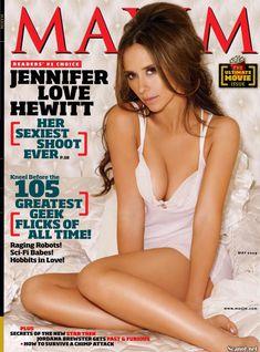 Соблазнительная Дженнифер Лав Хьюитт  в журнале Maxim фото #1