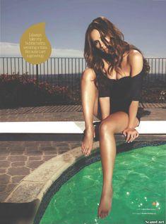 Соблазнительная Дженнифер Лав Хьюитт  в журнале Maxim фото #7