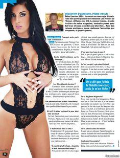 Горячая Жюли Гайе засветила грудь в журнале Entrevue фото #3