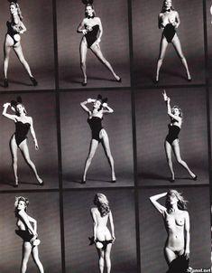 Голая грудь Кейт Мосс в журнале Playboy фото #4