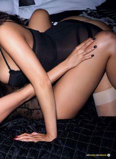Джои Фишер позирует в сексуальном белье для ZOO фото #5