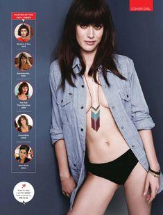 Сексуальная Лиззи Каплан в игривом образе для журнала GQ фото #4