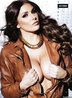 Эротичная Люси Пиндер  в журнале Nuts фото #3