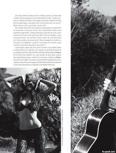 Шикарная Луиза Мораес снялась голой в журнале Revista Status фото #5