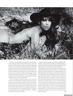 Шикарная Луиза Мораес снялась голой в журнале Revista Status фото #9