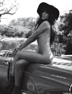 Шикарная Луиза Мораес снялась голой в журнале Revista Status фото #10