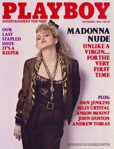 Оюнаженная Мадонна  в журнале Playboy фото #1