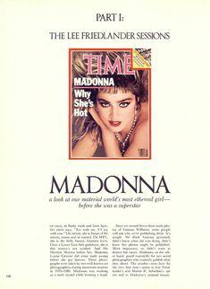 Оюнаженная Мадонна  в журнале Playboy фото #2