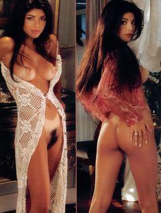 Полностью голая Мария Чека снялась в журнале Playboys Playmate Test фото #3