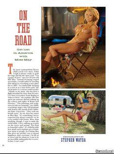 Абсолютно голая Никки Ли позирует в журнале Playboy фото #1