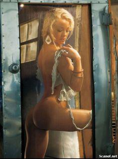 Абсолютно голая Никки Ли позирует в журнале Playboy фото #4