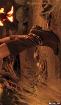 Абсолютно голая Никки Ли позирует в журнале Playboy фото #7