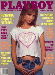 Обнаженная Розанна Аркетт  в журнале Playboy фото #1