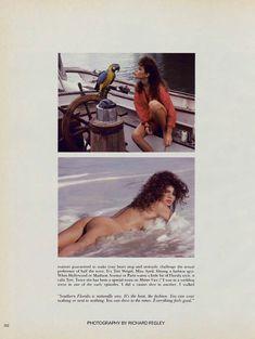 Полностью голая Тери Вейгель снялась в журнале Playboy фото #1