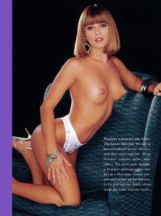 Абсолютно обнажённая Энджел Борис  в журнале Playboys Playmate Test фото #4