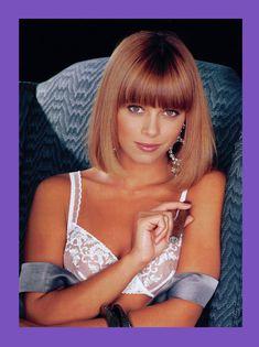 Абсолютно обнажённая Энджел Борис  в журнале Playboys Playmate Test фото #6