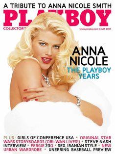 Раздетая Анна Николь Смит  в журнале Playboy фото #1