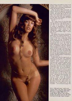 Соблазнительная Барби Бентон снялась обнажённой в журнале Playboy фото #4