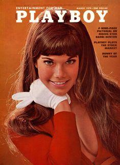 Сочная голая грудь Барби Бентон на фото в журнале Playboy фото #1