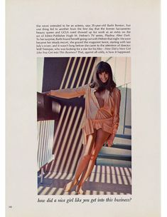 Сочная голая грудь Барби Бентон на фото в журнале Playboy фото #2