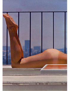 Сочная голая грудь Барби Бентон на фото в журнале Playboy фото #4