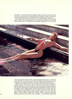 Голая грудь Бриджит Нильсен на сочных кадрах в журнале Playboy фото #5